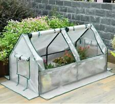 D02 Portable Reinforced Garden Large Frame Shelves Cover Cold Grow Greenhouse