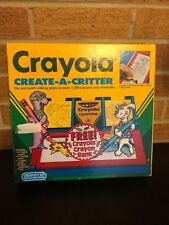 Crayola Create A Critter 1991 Unit and all plates
