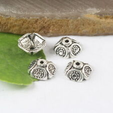 40pcs Tibetan silver dotted spacer beads H0148