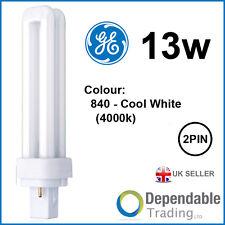 Ge 13w Biax D Économie D'Énergie 2-PIN Blanc Froid G24d-1 F13DBXT4/SPX41/840 #