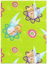 Disney Tinkerbell Flower Frame Green by Springs Creative bty PRICE REDUCED