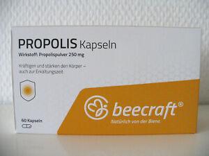beecraft * Propolis - 60 Kapseln * Neu & OVP