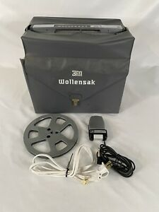 Wollensak Tape Magnetic Recorder With Original Microphone Model T-1400