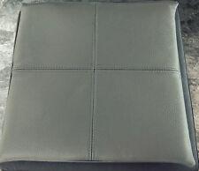 Echt Leder Cuscini Sedia Edizione Cuscino 40x40x3 cm grigio pietra antiscivolo Gel