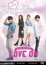 High School – Love On Korean Drama (5DVDs) Excellent English & Quality!