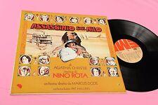 NINO ROTA LP OST ASSASSINIO SUL NILO ORIGINALE 1978 NM !!!!!!!!!!!!   TOOOPPPPP