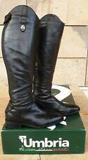 Stivali pelle Umbria Equitazione 43 polpaccio+1 nero monta