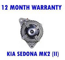 KIA SEDONA MK2 (II) 2.2 CRDI 2010 2011 - 2015 ALTERNATOR