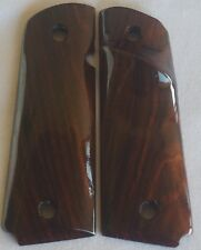 1911 right-hand TARGET GRIPS 4 COLT FULL SIZE KIMBER LES BAER COCOBOLO ROOT Z-40