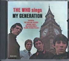 THE WHO - Sings My Genration - Oldies Pop Rock Music CD