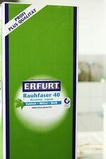 Erfurt Rauhfaser 40 Großrolle 125 x 0,75  Raufaser Rauhfasertapete Erfurter