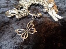 Celebrate your Transformation! Butterfly Charm for Weight Watchers Keychain!