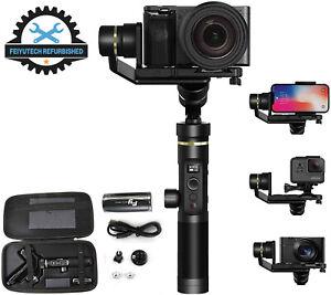 FeiyuTech G6 Plus 3 Axis Smartphone DSLR Mirrorless Action Cameras