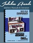 Rock Ola  Model 470 - 160 Selection Service Manual & Parts Catalog w/ Brochure