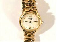 Vintage TISSOT 1853 G327 Gold Quartz Women's Wristwatch