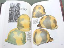 """""""PAINTED STEEL VOLUME 2"""" US WW1 WW2 M-1917 M-1 TANK HELMET REFERENCE BOOK N/MINT"""