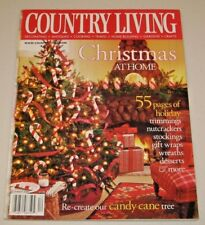 Country Living Magazine December 2001 Christmas, Candy Cane Tree