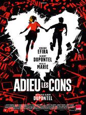 Adieu les cons - Affiche cinema 40X60 - 120x160 Movie Poster