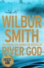 WILBUR SMITH __ RIVER GOD _____ BRAND NEW B FORMAT ___ FREEPOST UK