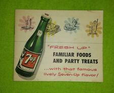 Seven-Up Advertising Recipe Booklet 1953