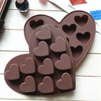 Heart Shape Silicone Cake Mold DIY Chocolate Soap Molds Cake Decorating Form SE
