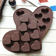 Heart Shape Silicone Cake Mold DIY Chocolate Soap Molds Cake Decorating FormSC