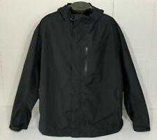 Cabela's Gore-Tex Black Hooded Wind Rain Shell Jacket Men's 3XL Seam Sealed EXC!