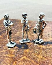 More details for silver plate figures. east end street boys. highly detailed figures.