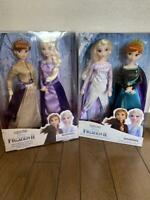 Disney Store Frozen 2 ANNA Limited Edition Doll anna elsa 4set super rare Japan