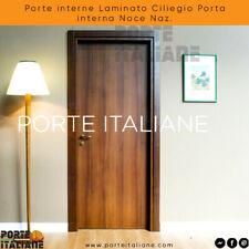 Porte interne Laminato Ciliegio Porta interna Noce Naz.