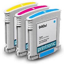 Ink Cartridge for HP OfficeJet Pro 8000 8500 Inkjet Printer - HP 940XL 3 Pack