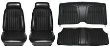 1969 Camaro Deluxe Comfortweave Interior Seat Cover Kit  OE Quality! Black