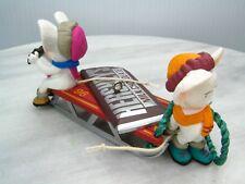 Hershey'S Chocolate Bar Mice On Sled Ornament 1996 Hallmark Keepsake Loose