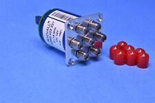 Radiall 6-Ch RF Microwave Switch Multiplexer 0-18GHz @ 12Vdc for PXI Applcations