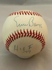 Ernie Banks HOF 77 - Signed Autographed ONL Baseball (White) - Upper Deck