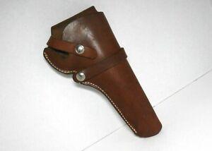 Vintage HUNTER Brown Leather Belt Holster 1100B 14 Right Hand Pistol Holder