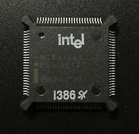 Intel NG80386SX-33 CPU Vintage 32bit i386sx Processor QFP
