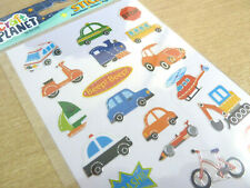 Small Kids Vehicle, Transport Car Stickers, Labels Stickers for Craft WD-6