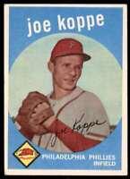 1959 Topps Joe Koppe Philadelphia Phillies #517