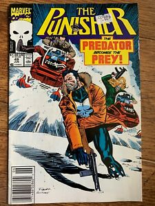The Punisher Issue 29 Comic Book Marvel Comics June 1991