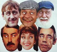 Only Fools and Horses Character Celebrity Party Face Masks