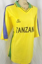 Skies Tanzania Size Xxl National Team Soccer Football Jersey Shirt Yellow Blue