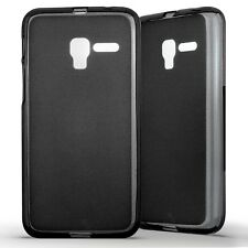 Housse Coque Etui Alcatel One Touch Pop 3 (5) Silicone Gel Protection arrière-