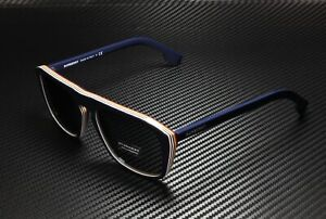 BURBERRY BE4286 379987 Check Multilayer Blue Grey 55 mm Men's Sunglasses