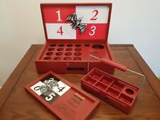 Bacardi Fuego wooden 3 piece drink game set new CAN YOU TAKE THE HEAT ?