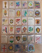 PANINI FIFA WM 2002 Korea-Japan - kompletter Glittersatz