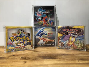 Japanese Pokemon Booster Box Acrylic MAGNET CASE Skyridge ETC NOTE *TIGHT FIT*