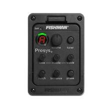 FISHMAN 201 Onboard Preamps Presys + Afinador De Guitarra Piezo Pastilla Eq Ecualizador