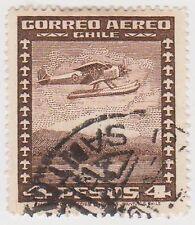 (CH247) 1934 Chile 4p brown air (B)
