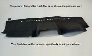 Sungrabba Dash Mat To Suit Mahindra Pik-Up Utility Models 07/2007-2017 Black